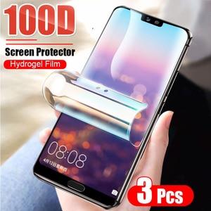 Image 1 - Folia ochronna hydrożelowa do Huawei Honor 10i 20 P20 P30 Pro P40 Lite Mate 20 Lite 40 P smart 2019 folia ochronna nie szkło