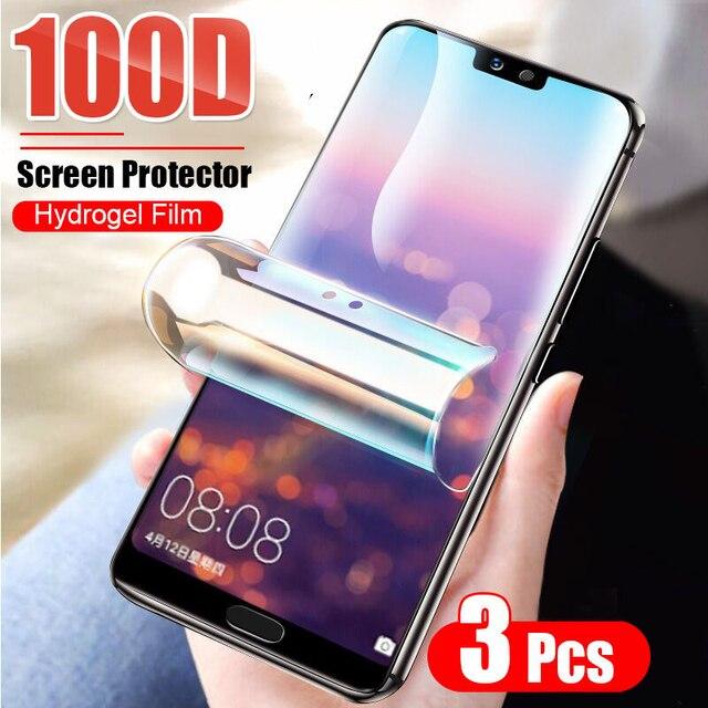 Folia ochronna hydrożelowa do Huawei Honor 10i 20 P20 P30 Pro P40 Lite Mate 20 Lite 40 P smart 2019 folia ochronna nie szkło