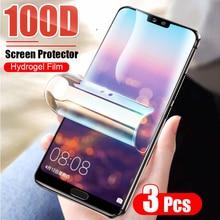 Schutz Hydrogel Film Für Huawei Ehre 10i 20 P20 P30 Pro P40 Lite Mate 20 Lite 40 P smart 2019 screen Protector Nicht Glas