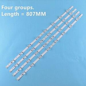 """Image 5 - 8 adet (4A + 4B) LED aydınlatmalı şerit 390HVJ01 lnnotek drt 3.0 39 """"39LB5700 39LB650V 39LB5800 39LB561F NC390DUN VXBP2 V390HJ4 PE1"""