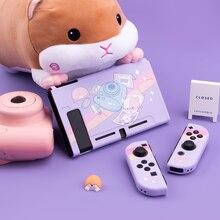 Geekshare Nintendo Switch Camera Hamster Cartoon Take Photos Fairy League TPU Soft Cover Back Girp Shell For Nintend Switch