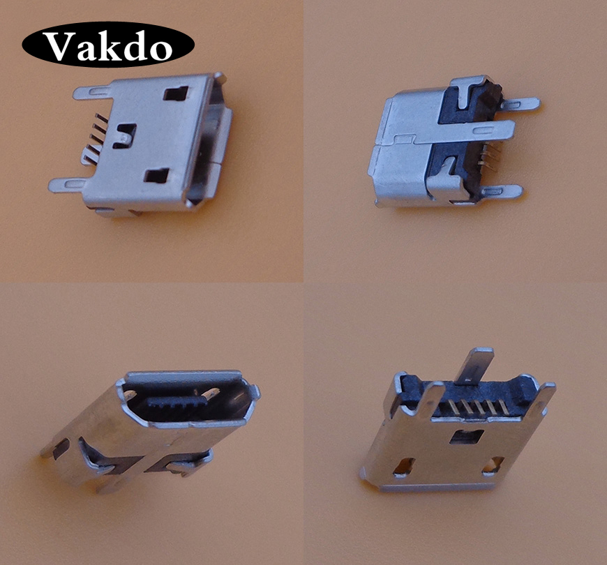 10pcs For UE MegaBoom Micro Mini Usb Connector Jack Socket Charger Charging Port Female 5pin 5 Pins Tail Replacement Repair