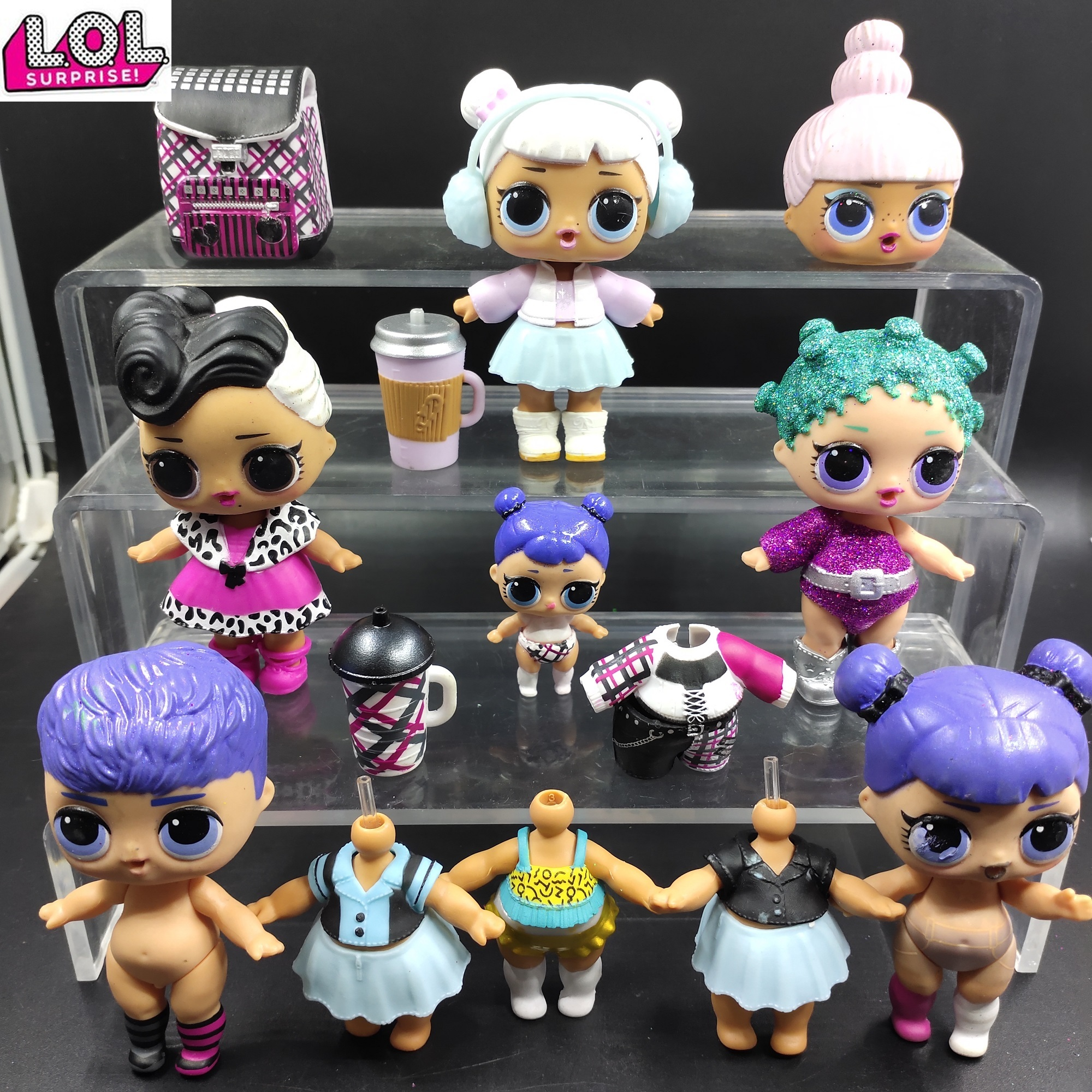 LOL Doll Surprise Original OMG Winter Disco Doll With Clothes Milk Bottles And Shoes Toys For Children