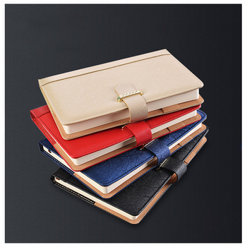 A5 Notebook Business Notebooks Soft PU Leather Lock Diary Traveler Notepad Journal Planner School Stationery Gifts free shipping 2017 new arrival portable sim travelers notebook tn traveler notepad befriend travel journal pu cover planner