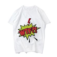 Superhero Comic Sound Effects Short-sleeve T-shirt Women Fashion T Shirt Summer Cotton Short Sleeve Tees Female Casual