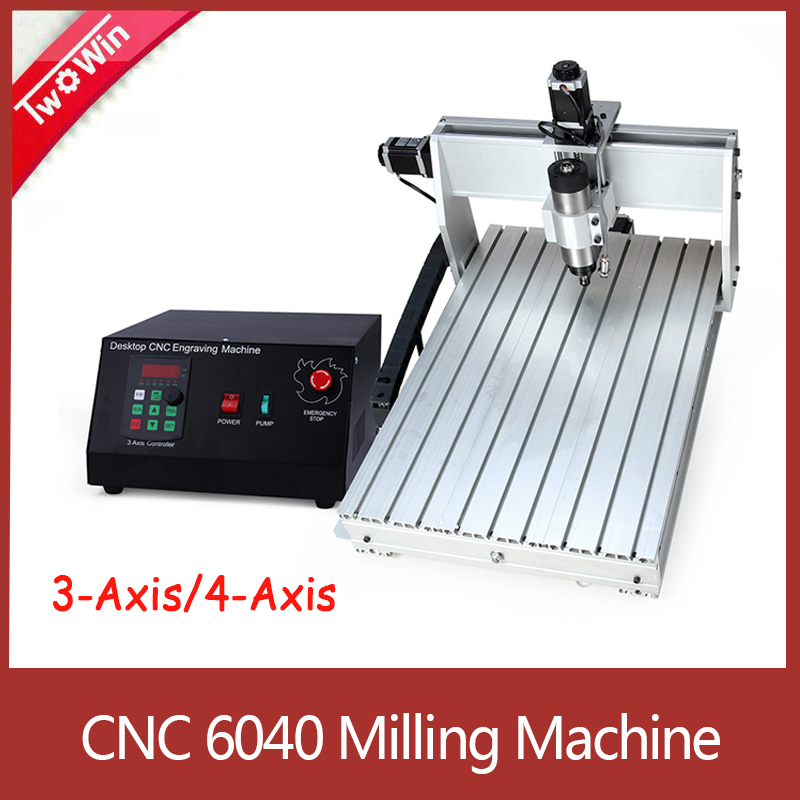 <font><b>CNC</b></font> <font><b>6040</b></font> 0.8kw / 1.5kw/ 2.2KW 3 <font><b>axis</b></font> <font><b>4</b></font> <font><b>axis</b></font> <font><b>CNC</b></font> router wood carving machine USB Mach3 control Woodworking Milling Engraver image