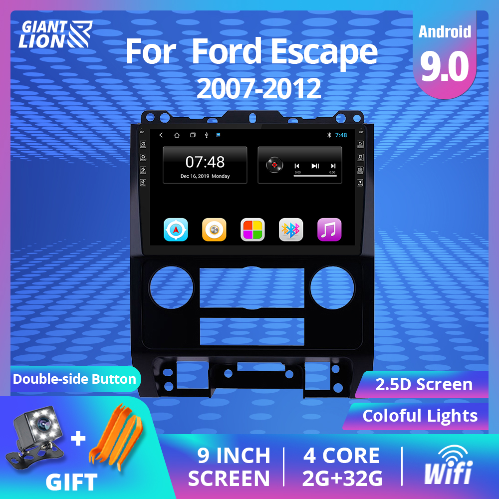 2din Android 9.0 Car Radio For <font><b>Ford</b></font> Espace 2007-2012 Car Multimedia Video Player Stereo Navigation <font><b>Gps</b></font> System Unit Dvd Player image