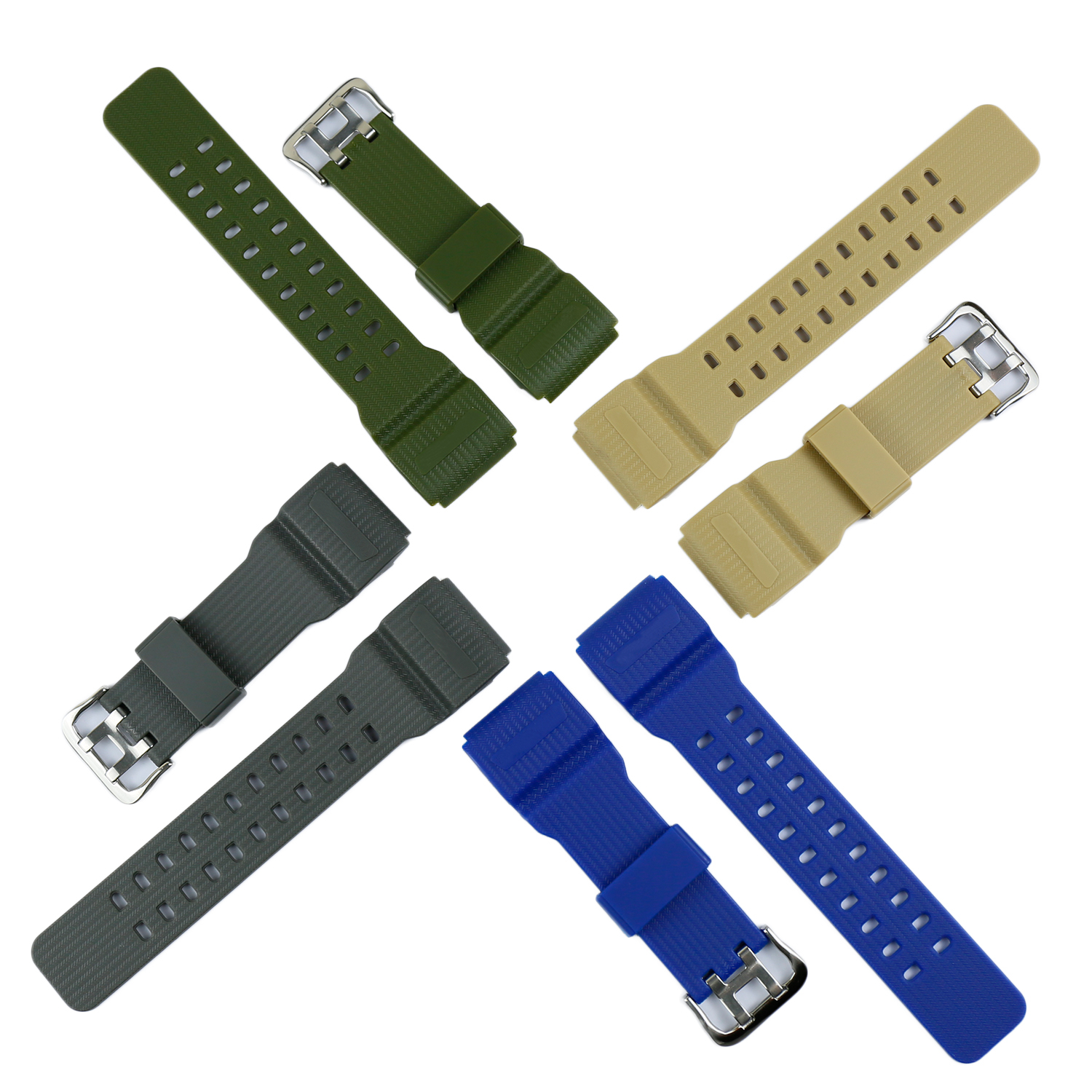 Resin Strap Suitable for Casio GShock mudmaster <font><b>GG1000</b></font> GWG100 GSG100 watch accessories image