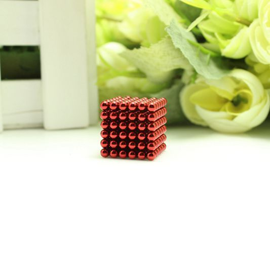 D3 Red Beads