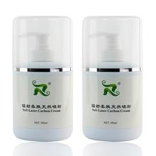 300ml macio laser creme de carbono nano gel de carbono creme para clareamento da pele reduzir pigmentação 2 pçs/set qualidade original