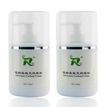 Crème de carbone souple, 300ml, nano gel de carbone, pour le blanchiment de la peau, réduit la pigmentation, 2 pièces/ensemble, qualité originale