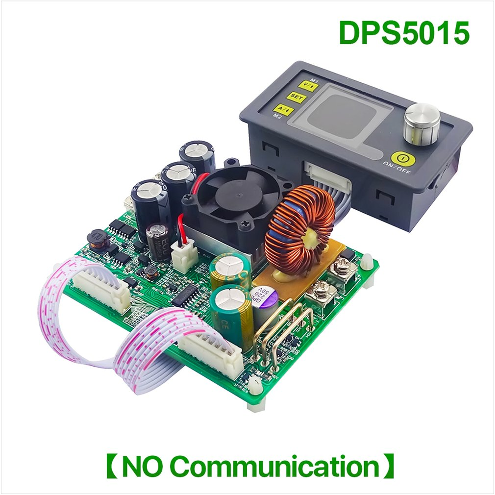 <font><b>DPS5015</b></font> Communication Constant Voltage Current DC Step-down Power Supply Module Buck Voltage Converter LCD Voltmeter 50V <font><b>15A</b></font> image