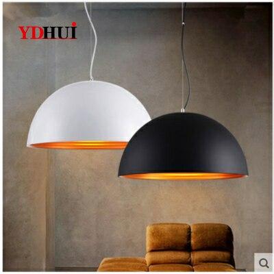 Restaurant Pendant Lights Simple Modern Coffee Shop Bar AC110V/220V E27 for decor lamp shade Pendant Lights     - title=