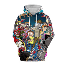 Tessffel Rick and Morty New Fashion Colorful casual Tracksuit 3D Print Hoodie/Sweatshirt/Jacket/shirts Mens Womens funny style-7