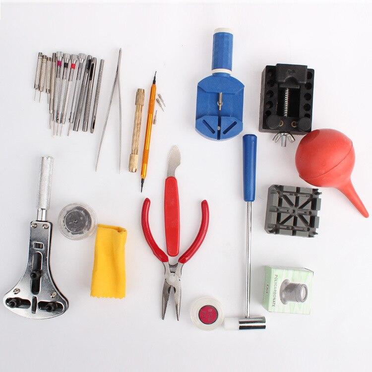27 teile / satz Armbanduhr Repair Tool Uhr DIY Kit Schraubendreher - Uhrenzubehör - Foto 4