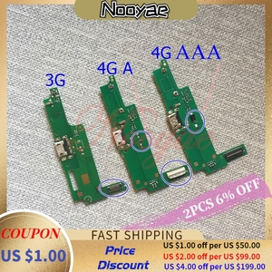 For Huawei Y3-2 Y3 2 Micro USB Charger 3G 4G Y3ii Y3-ii Charging Port Connector Flex Cable Mic Microphone tracking(China)
