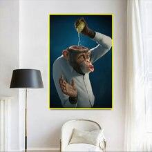 Креативная декоративная картина «животные» с изображением обезьяны