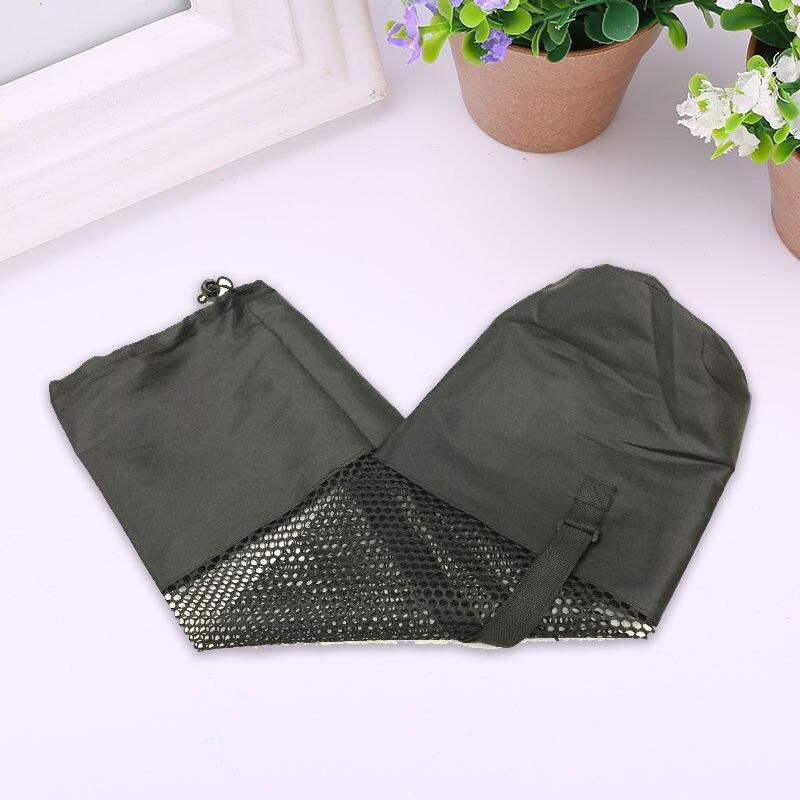 1PCS Nylon Sport Tool Adjustable Strap Yoga Mat Bag Mesh Convenience Black Carrier Blackyoga backpack Sporting Goods