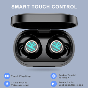 Image 3 - AWI W6 TWS Bluetooth 5.0 Earphones Touch Control Headsets HD Stereo Handsfree Wireless Headphones With Dual Mic Noise Isolation