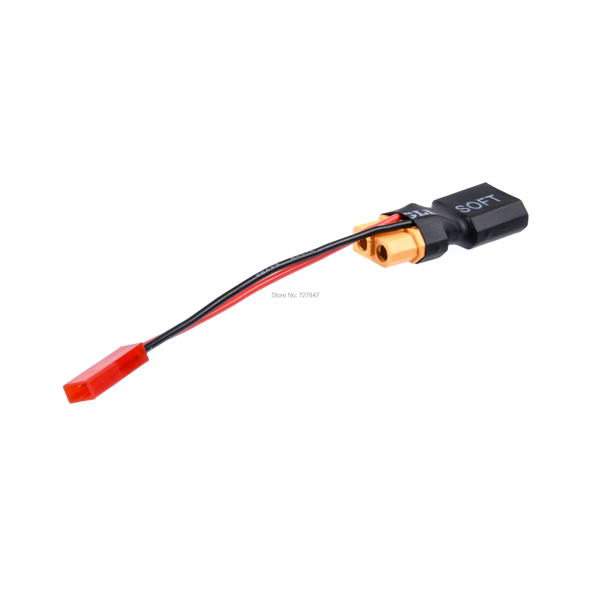 T-Plug Deans Male to Female /& in-line JST male Adapter for Lipo Battery FPV