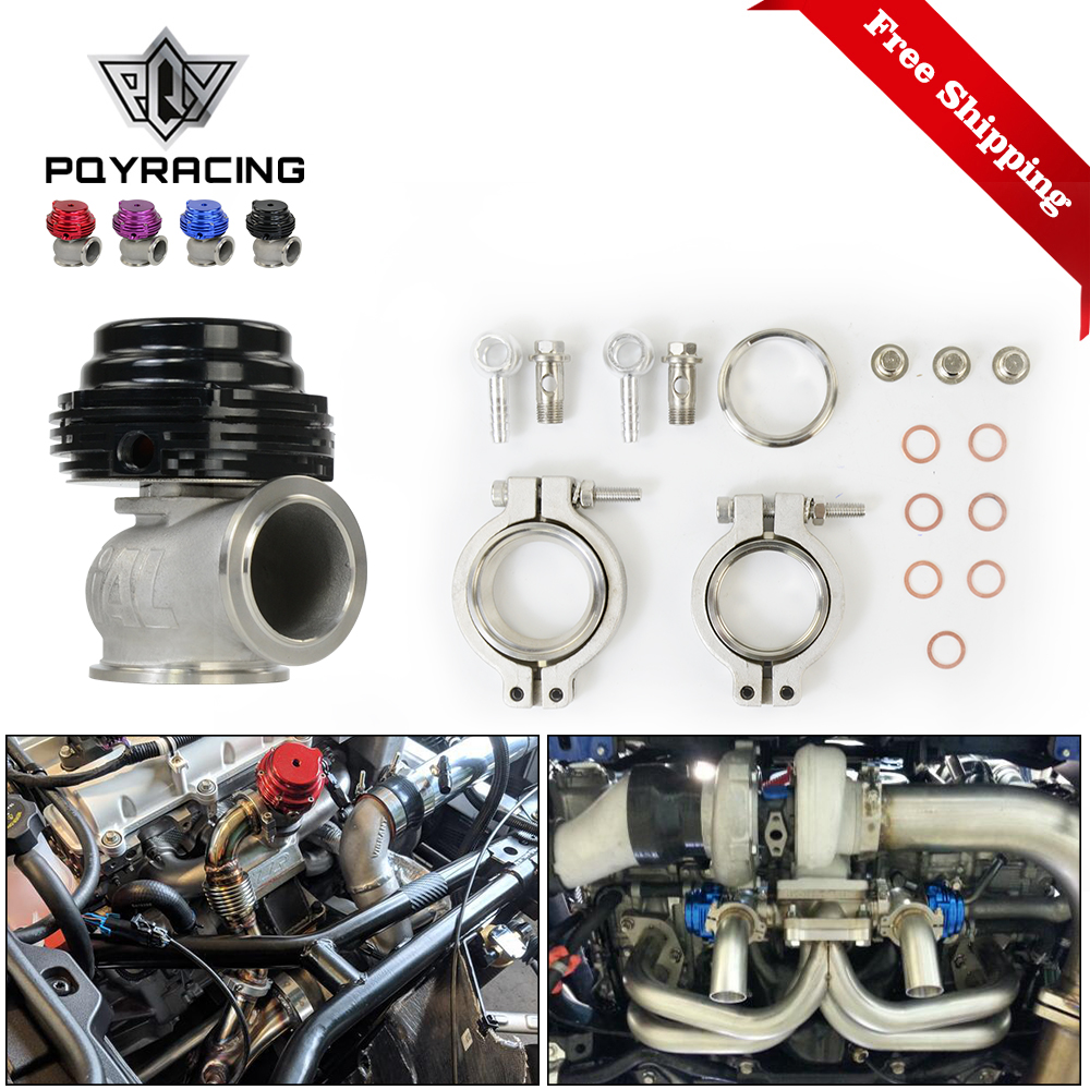 Free Shipping MVS 38mm Wastegate Aluminum Top Steel V band Gold External Waste Gate For Supercharge Turbo Manifold 17PSI 20PSI-in Exhaust Gas Recirculation Valve from Automobiles & Motorcycles    1