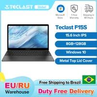 Teclast-ordenador portátil F15S de 15,6 pulgadas, Notebook con sistema operativo Windows 10, 1920x1080, 8GB de RAM, 128GB ROM, Intel Apollo Lake, Wifi Dual