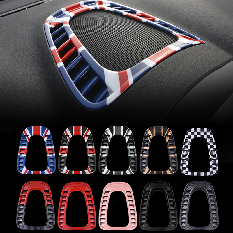 Car air conditioning air outlet decoration Sticker For BMW MINI COOPER S COUNTRYMAN F60 SUV car Interior styling accessories