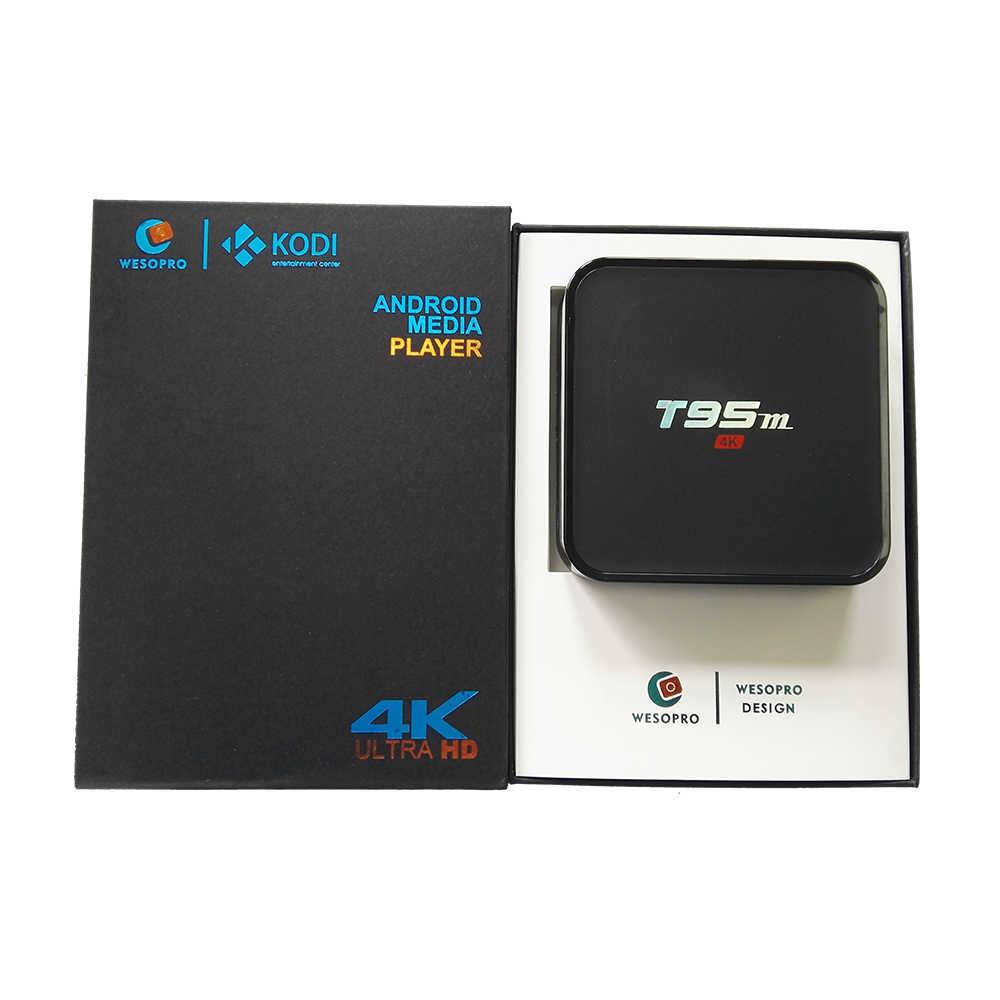 T95M Android TV Box avec Europe arabe français portugais polonais allemand italie espagne néerlandais suède UK USA CA IPTV abonnement M3U