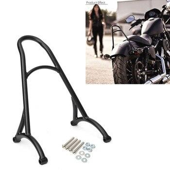 Black Motorcycle Short Passenger Sissy Back Rest Motorcycle Bar Backrest For Sportster XL Iron for Nightster 883 1200