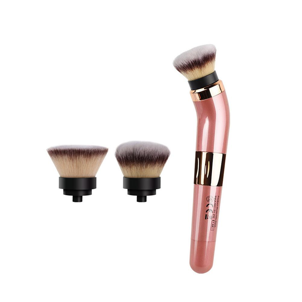 Electric Makeup Brush USB Rechargeable Automatic Smart Cosmetics Blushes With 360 Degree Rotating Makeup Brush Makeup Tool