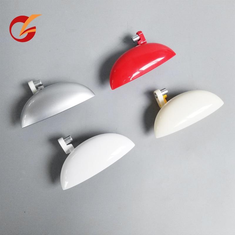 Use para geely panda traseira porta da frente porta exterior lidar com vermelho branco prateado cor cinza metálico
