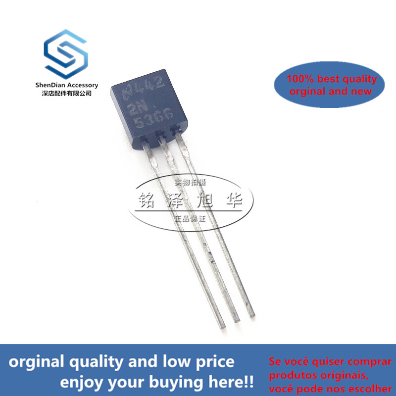 10pcs 100% Orginal New Best Qualtiy 2N5366 5366  TO-92 PNP General Purpose Amplifier Real Photo