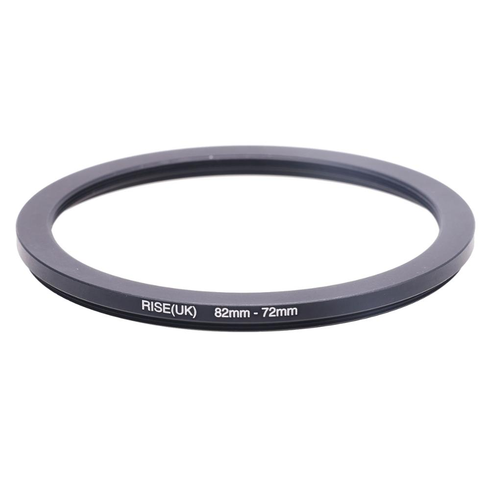 RISE(UK) 82mm-72mm 82-72 Mm 82 To 72 Step Down Filter Ring Adapter