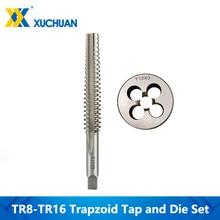 HSS Screw Thread Tap And Die Set 2pcs Right Rotation CNC For Metalworking Kit Machine Plug Screw Tap Drill Bit Round Die