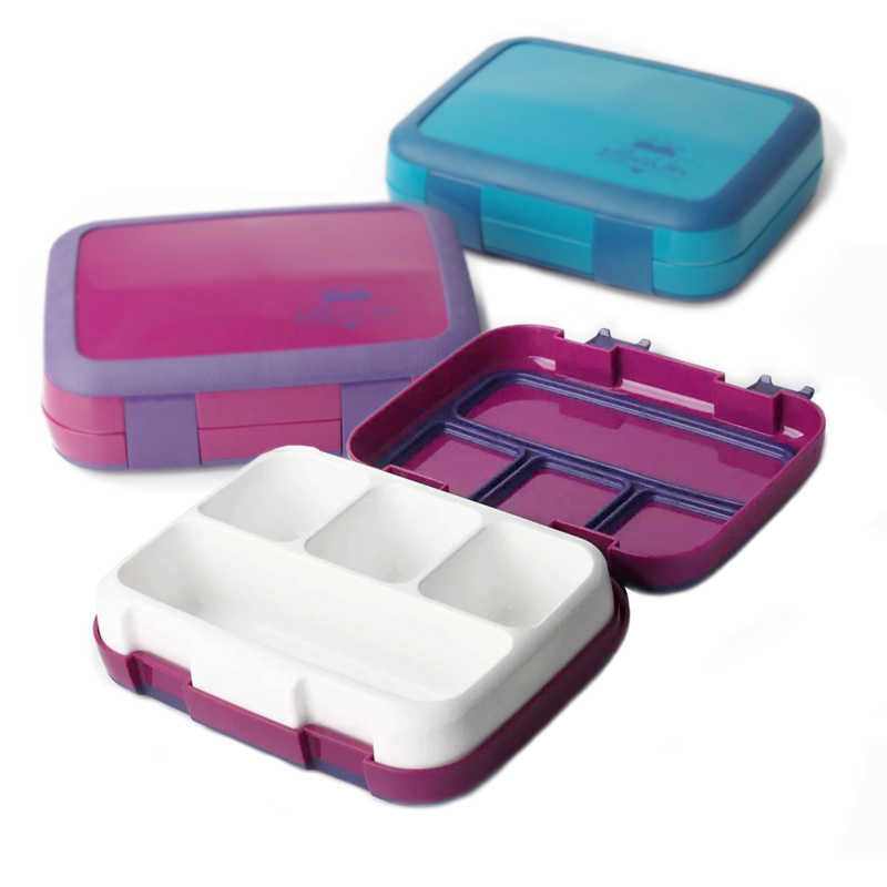 TUUTH Microwave Lunch Box Leakproof Bento Box For Children Kids Multiple Grids Portable Food Container