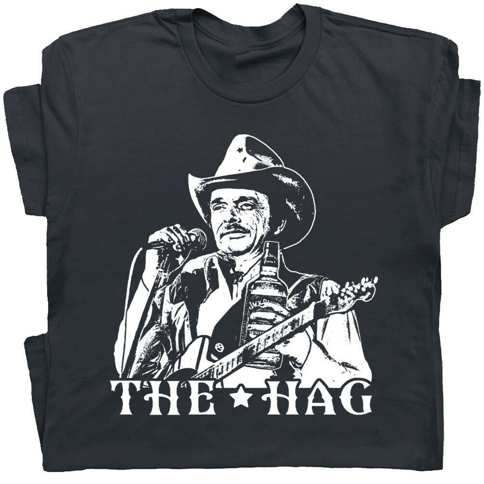 new MERLE HAGGARD Motorcycle Cowboy Country classic men/'s S to 3XL