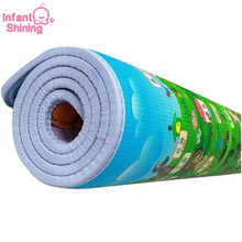 Free Shipping Baby Toy Crawling Play Mat 200*180* m Two Sided Infant Climb Pad ,Play+Learning+Safety