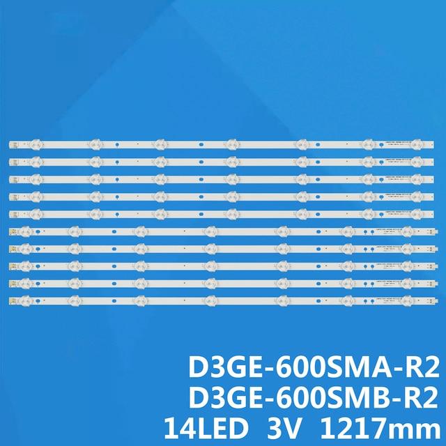 Bande lumineuse rétroéclairée LED pour SAMSUNG TV, 60 pouces, 2013SVS60, LM41 00001L, LM41 00001M, BN96 29074A, BN96 29075A
