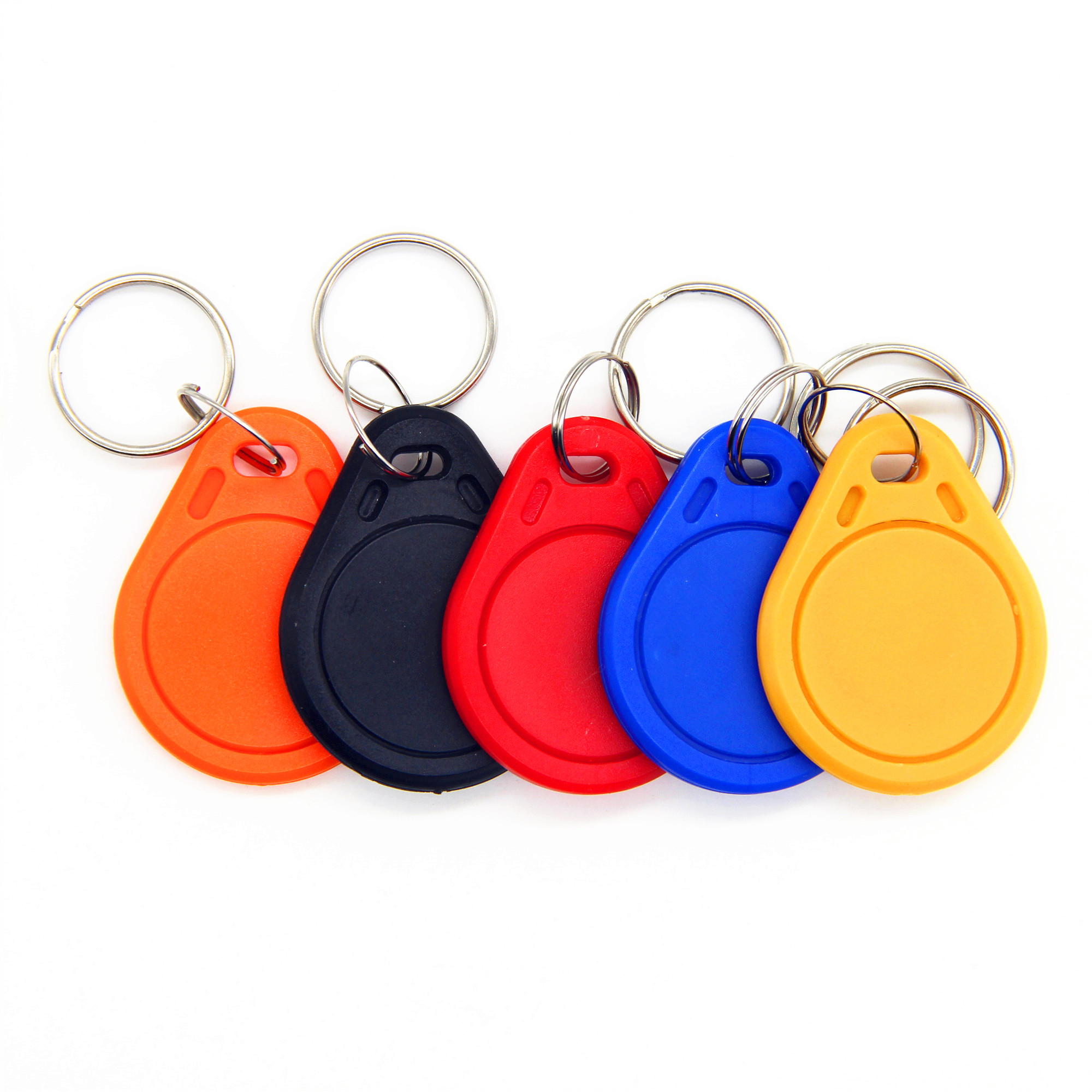 1Pcs S50 Smart Card Contactless Proximity IC 13.56Mhz RFID Key Fob Wrist Band Card Keyfob Token Tag For Access Control System