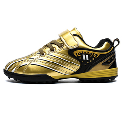 Kids Boys Girls Football Practice Shoes Turf TF Out Indoor Lawn Game Short Nail Sport Soccer Footwear