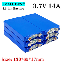 3.7V 14Ah pas 15Ah polymère batterie au lithium 12V 24V 36V 48V Li-ion batterie pack bricolage énergie sotorage véhicule électrique solaire e-bike