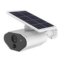 L4 HD 1080P solaire Intelligent sécurité IP caméra extérieure Audio Vision nocturne CCTV batterie caméra avec carte SD|Caméras de surveillance| |  -