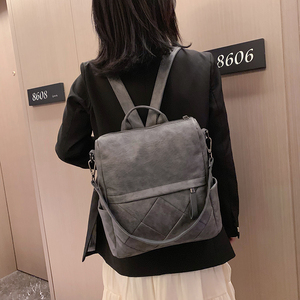 Image 3 - Fashion Women Backpack High Quality Soft Leather School Backpacks for girls Female Casual Large Capacity Vintage Shoulder Bags