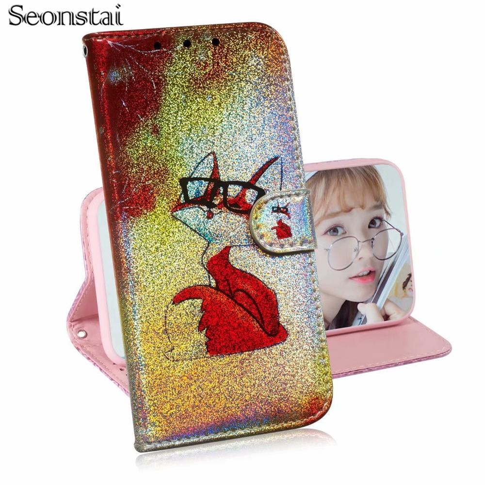For Nokia 2 2.1 3 3.1 5 5.1 6 6.1 7 Plus 7.1 8.1 2018 with Tpu 3D Painted PU Leather Phone Wallet Etui Coque Cover Flip Case