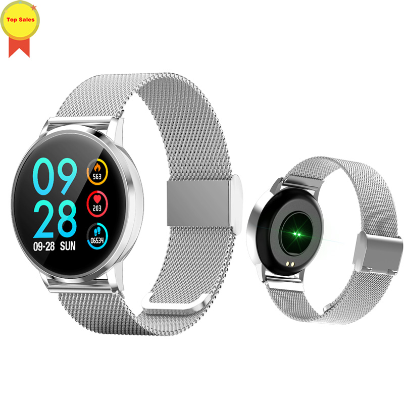 new product Smart Electronic Wearable Passometer Smart Watch Sleep heart rate Monitor Pedometer Tracker Android IOS Smart Watch
