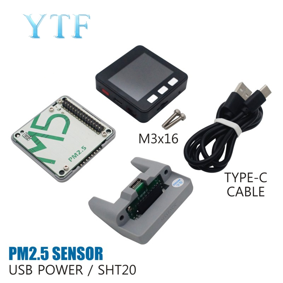 M5Stack PM2.5 Air Quality Sensor Detects PMSA003 + SHT20