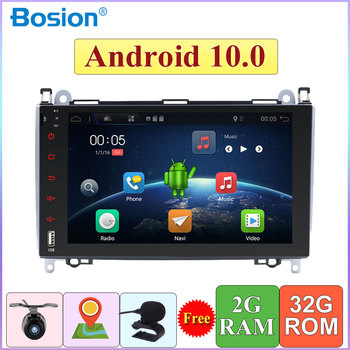 2 Din Auto Multimedia Player Radio Android 10 ForMercedes-Benz Viano/Vito/Sprinter/W906/W245/Crafter GPS BT AUX SWC Kamera Karte image