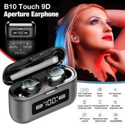 Drahtlose Bluetooth Headset B10 TWS 5,0 Bluetooth Noise Cancelling Ohrhörer mit Dual Mikrofon Sport in-Ohr Kopfhörer Kopfhörer