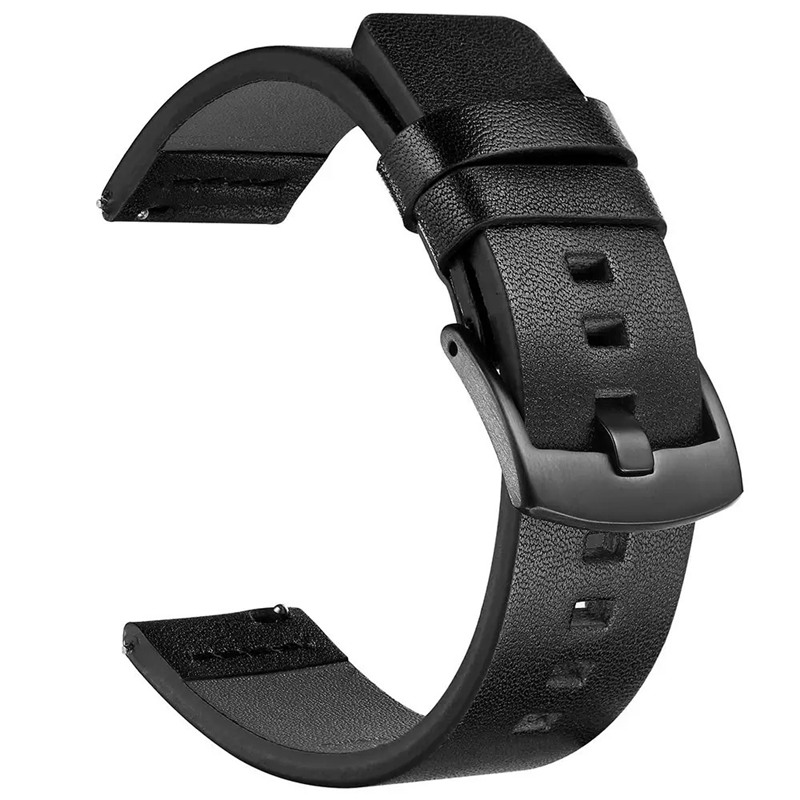 ASHEI 22mm 20mm Leather Watchbands For Samsung Galaxy Watch 46mm 42mm Active 2 40mm 44mm Band Gear S3 S2 Classic/Frontier Strap