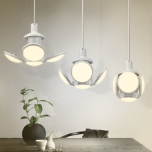 Football LED Lamp 40W E27 AC 85-265V Dimmable Charging Bulb
